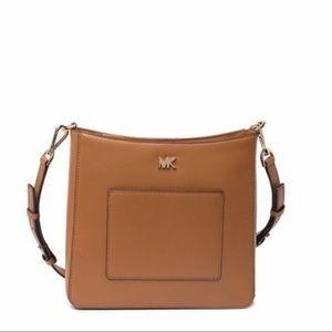 Michael Kors Leather Pocket Swing Crossbody